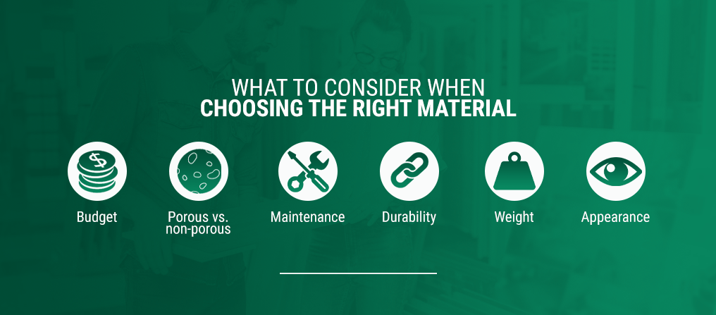 Choosing the Right Material