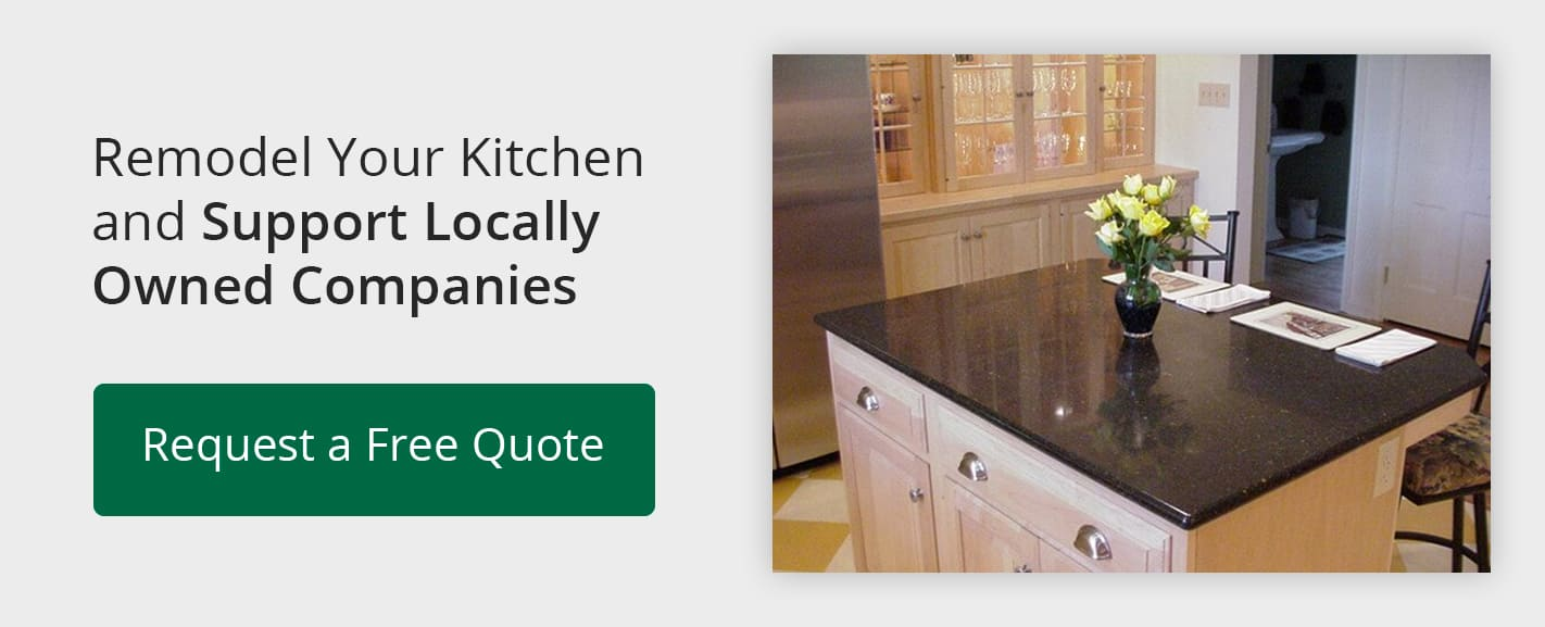 Remodel Your Kitchen and Support Locally Owned Companies