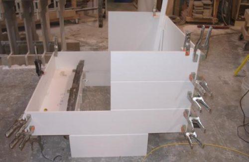 Lego Bench Building Process