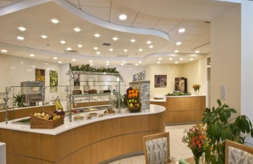 Restaurant With Cambria Dovedale Countertops