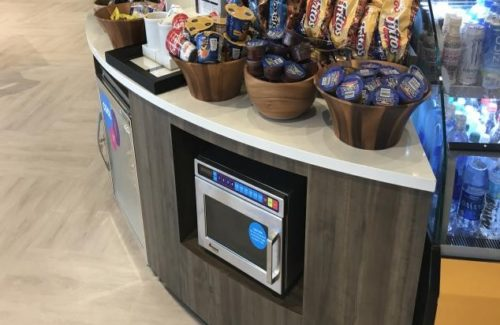 Tru by Hilton Snack Counter With Microwave Alcove