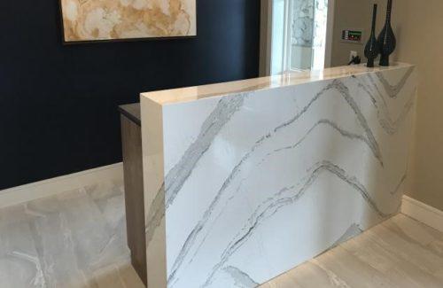 Marbled Concierge Desk