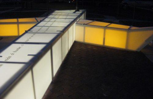 Artwork Bench In Lancaster, PA