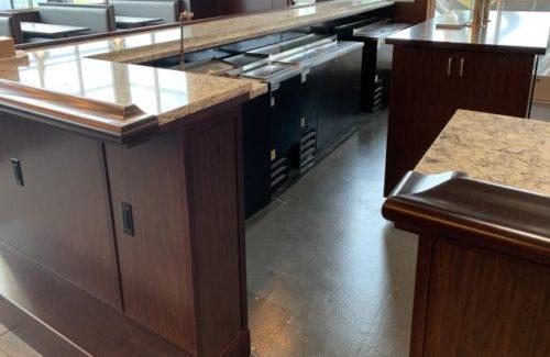 Bar Area In Restaurant