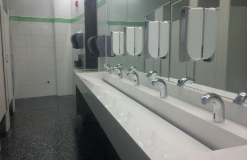 Trough Sink In Bathroom