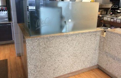 McCafe With Vetrazzo Champagne Flint Countertop