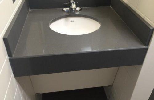 Dark Gray Bathroom Vanity