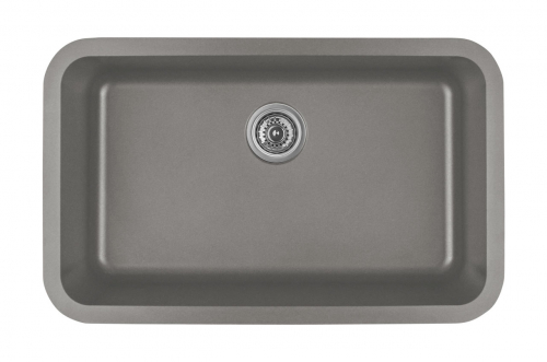 Silver Rectangular Sink