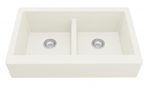 Rectangular Double-Basin Sink