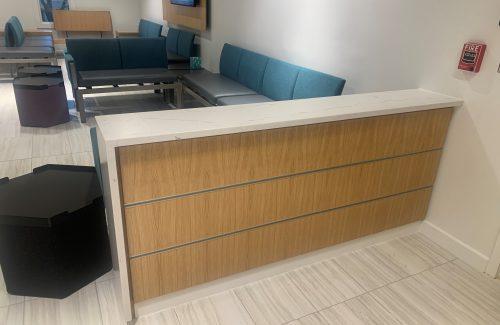 Waiting Room Countertop