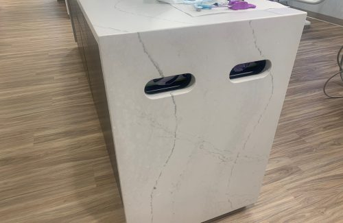 Side Countertop Glove Dispenser