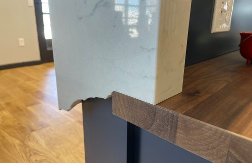 Close Up Of Edging On Countertop